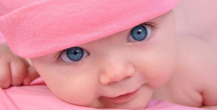 ژنتیک رنگ چشم بچه - بچه چشم آبی چطور درست می شه